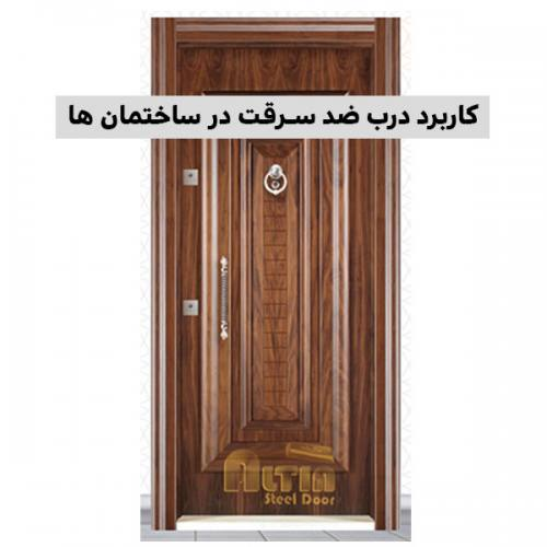 کاربرد درب ضد سرقت در ساختمان ها، درب ضد سرقت, درب امنیتی